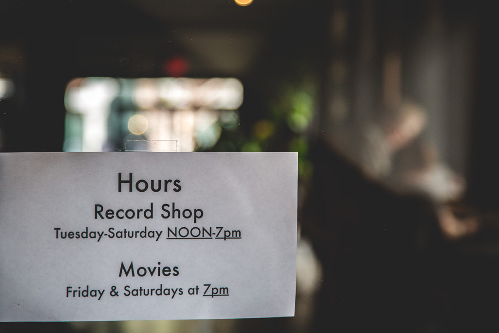 Red Door Records and Cinema